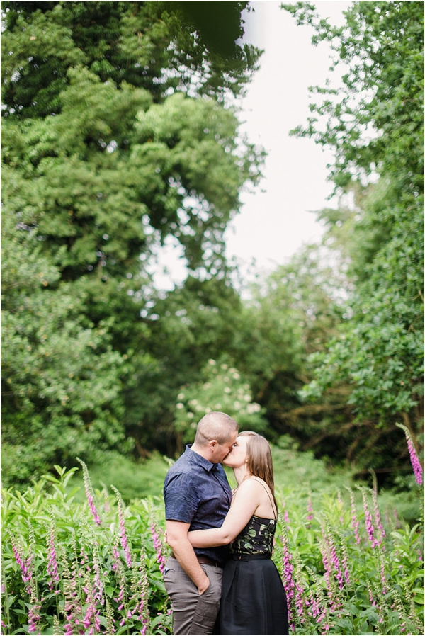 Fine Art Film Photographer UK Langley Park Engagement Shoot_0004