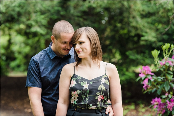 Fine Art Film Photographer UK Langley Park Engagement Shoot_0006