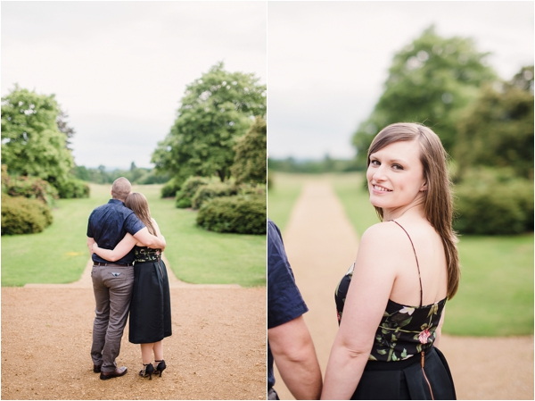 Fine Art Film Photographer UK Langley Park Engagement Shoot_0011