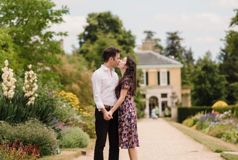 Zara & Stephan's Polesden Lacey Engagement Shoot