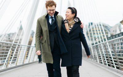 Alison & Andrew's Pre-Wedding Shoot in London