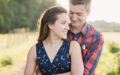 Daisy & Tom's Engagement Shoot in the Chilterns
