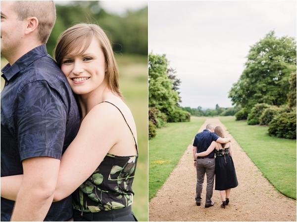 Fine Art Film Photographer UK Langley Park Engagement Shoot_0005