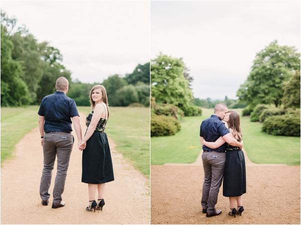 Fine Art Film Photographer UK Langley Park Engagement Shoot_0009