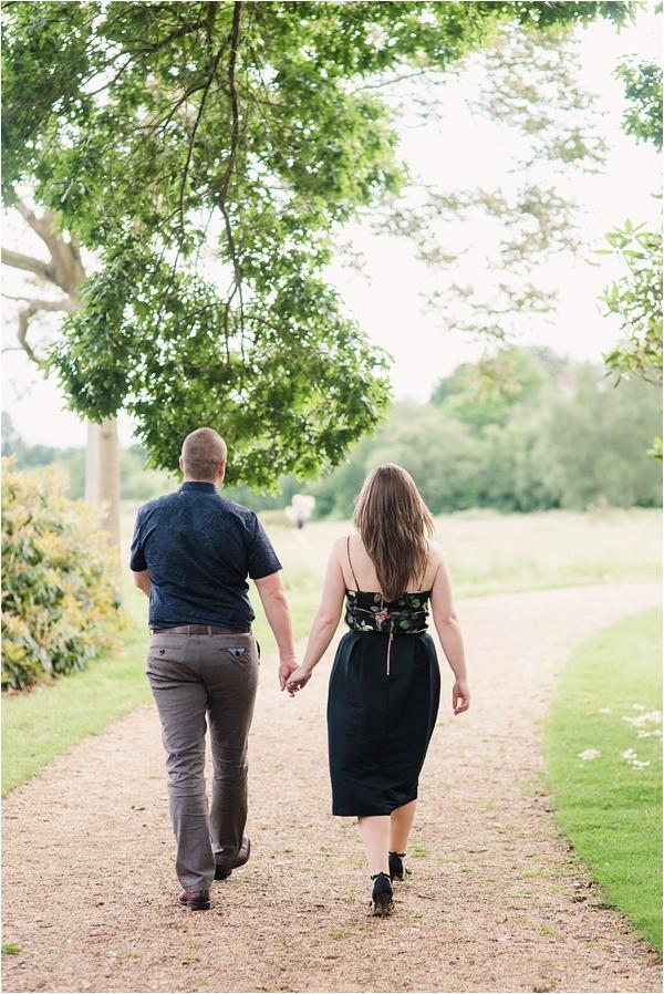 Fine Art Film Photographer UK Langley Park Engagement Shoot_0013