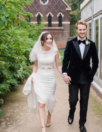 Fulham Palace Wedding Photos Fine Art Wedding Photographer Film Photography-49