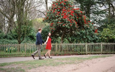 Engagement Shoot in Holland Park on Film