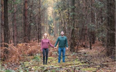 Engagement Shoot In Buckinghamshire
