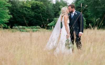 Rosie & Freddie's English Countryside Wedding